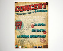Concerts Green Piste Records