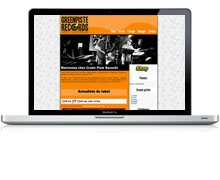 Refonte site Label musique