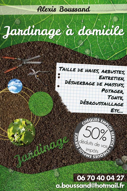 flyers jardinier